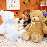 Cartoon Plush Soft Teddy Bear Toy Cute Stuffed Animal Doll Kids Pillow