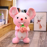 Stuffed Cartoon Mouse Toy Cute Kids Christmas Gift Plush Animal Doll