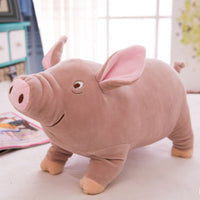 Pig Plush Doll Soft Cuddly Piggy Toy Farm Stuffed Animal Pillow
