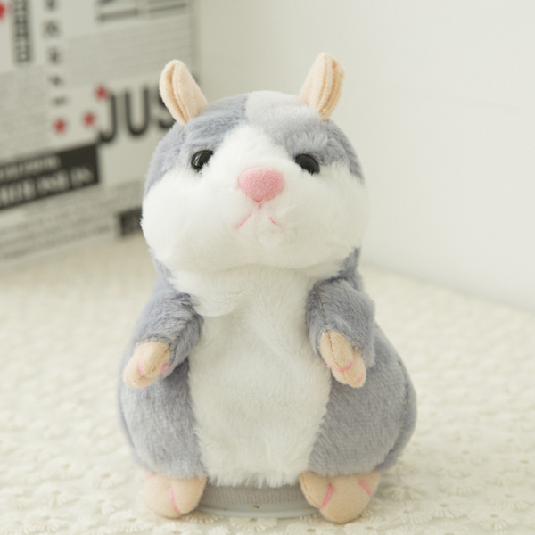 Lovely Talking Hamster Speak Sound Record Repeat Stuffed Animal Toys
