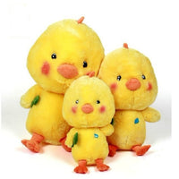 Stuffed Yellow Chick Doll Cute Cartoon Plush Animal Pillow Kids Gifts