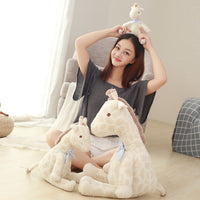 Cute Simulation Giraffe Plush Toys Soft Stuffed Cartoon Animal Doll