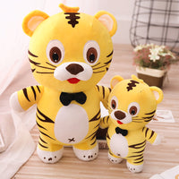 Cartoon Cute Standing Tiger Plush Toys Soft Stuffed Animal Tiger Doll