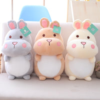 Cute Hamster Plush Toys Soft Stuffed Cartoon Animal Mouse Doll Pillow