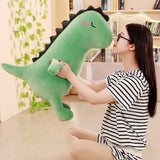 Cute Dinosaur Plush Cushion Pillows Cartoon Animal Stuffed Toy Dolls