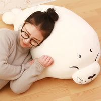 Lovely Soft Elastic Seals Marine Animal Plush Stuffed Pillow Toys