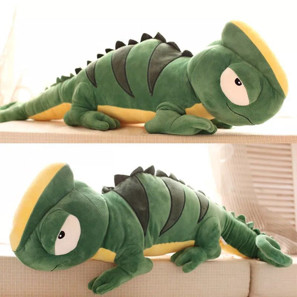 Big Lizard Plush Toys Giant Stuffed Chameleon Dolls