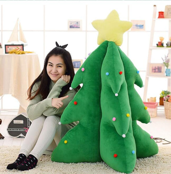 Christmas Trees Plush Toy Shine Super-soft Singing Light Up Tree Toys