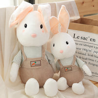 Cute Rabbit Plush Toy Soft Stuffed Animal Bunny Sleeping Mate Doll