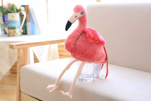 Plush Cute Carrot Pillow Soft Stuffed Flamingo Toy Girl Birthday Gifts