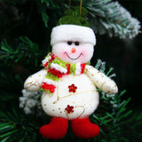 Decorations for Christmas tree Soft Santa Claus plush Toy for Kids