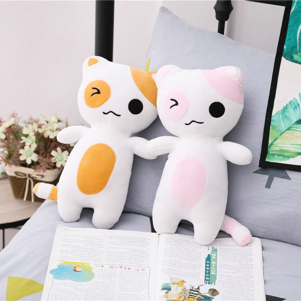 Cartoon Cat Plush Toys Stuffed Soft Animal Cat Pillow Dolls