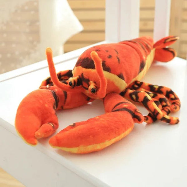 Realistic Lobster Stuffed Pillow Kids Doll Birthday Gift Plush Toy