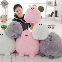 Soft Fat Fluffy Cats Plush Toy Cute Persian Cat Stuffed Dolls Animal Plush Pillow Gifts for Kids