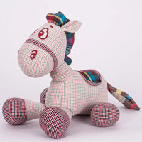 Plush Lovely Donkey with Bamboo Charcoal Doll Stuffed Animal Toy