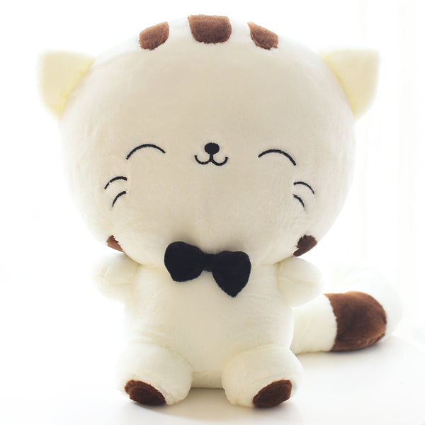 Super Cute Big Face Stuffed Cat Baby Gift Cartoon Cat Plush Toys