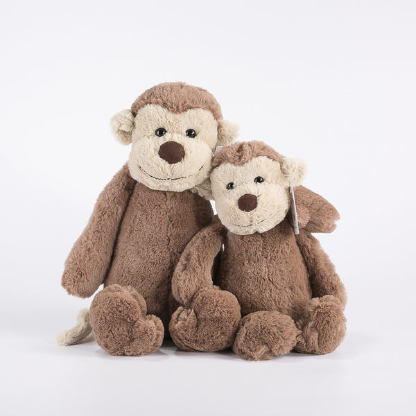 Lovely Stuffed Cartoon Monkey Doll Kids Gifts Plush Animal Pillow