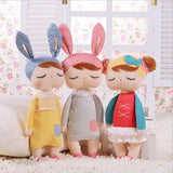 Stuffed Angela Rabbit Dolls Metoo Baby Plush Toy Rabbit Dolls
