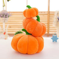 Stuffed Pumpkin Plush Toy Durable Halloween Pumpkins Throw Pillow