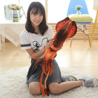 Soft Realistic Stuffed Octopus Toy Cute Plush Squid Doll Birthday Toy