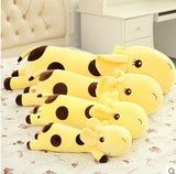 Cute Lie Giraffe Plush Pillow Soft Stuffed Deer Plush Doll Toy