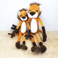 Forest Animal Plush Soft Giraffe Tiger Toy Cute Stuffed Ferret Doll