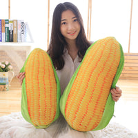 Large Corn Soft Plush Pillow Cute Staffed Vegetable Toy Birthday Gift