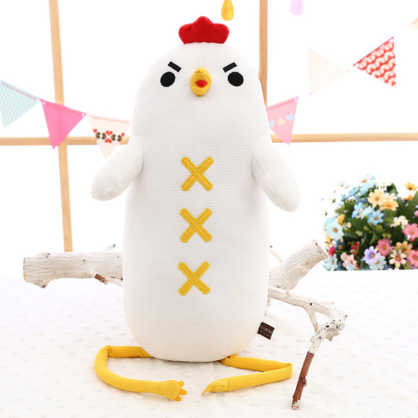 Cute Cartoon Long Legs Chicken Plush Toy Kids Gift Stuffed Animal Doll