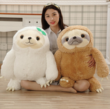 Giant Sloth Plush Toy Baby Doll Birthday Gifts Stuffed Animal Pillow