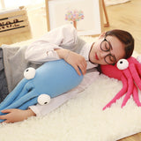 Cartoon Sea Octopus Doll Pillow Soft Stuffed Animal Plush Cushion