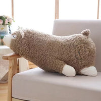 Alpacasso Plush Toys Stuffed Lying Alpaca Dolls Pillow Soft Animal Toys