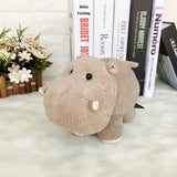 Cute Hippo Plush Toys Lovely Soft Stuffed Elephant Horse Doll Toy