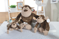 Lovely Plush Giant Monkey Pillow Stuffed Animals Soft Toy Kids Gift