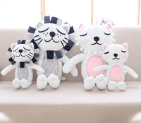 Cat&lion Doll Toy Super Lovely Stuffed Toy Soft Plush Baby Toys