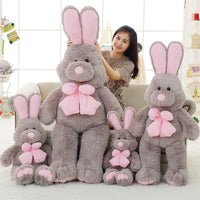 Giant Cartoon Stuffed Fat Bunny Toy Soft Plush Rabbit Baby Animal Doll