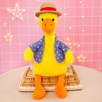 Cute Plush Duck Dog Toy Super Soft Stuffed Animal Cartoon Doll