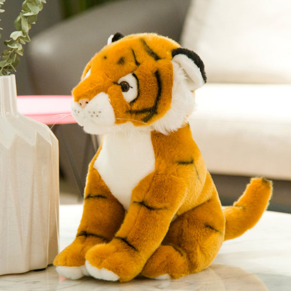 Lovely Cute Stuffed Tiger Plush Animal Pillow Kids Toy Birthday Gifts