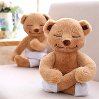 Soft Cartoon Changing Yoga Bear Doll Kids Gifts Stuffed Animal Toy