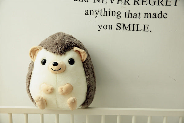 Soft Stuffed Cute Hedgehog Toy Plush Kids Pillow Fat Animal Doll