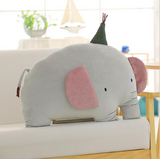 Soft Elephant Stuffed Toy Cute Cat Dinosaur Plush Pillow Kids Gifts