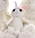 Cute Lovely Stuffed Soft Bunny Pillow Kids Favor Plush Rabbit Toy