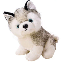 Plush Husky Dog Stuffed Animal Puppy Toys Gifts 8""