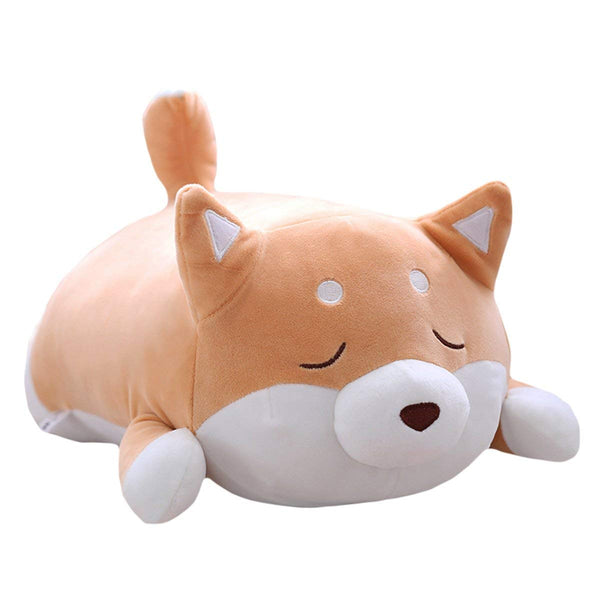 Cute Shiba Inu Dog Plush Pillow Corgi Stuffed Animals Doll Toy