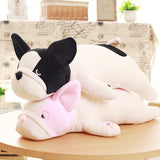 Cute Plush Stuffed Animal Pillow Soft Huggable Bulldog Doll Cushion Toys Gift for Baby Toddler, 50CM/19.5¡®¡¯
