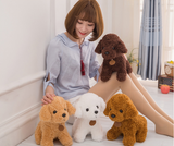 Soft Cute Stuffed Teddy Dog Plush Dog Toy Cartoon Kids Doll
