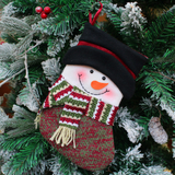 Decoration for Christmas Soft  Snowman Toy for Kids Cute Deer Stocking