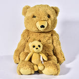 Cute Cartoon Plush Bear Dolls Baby Christmas Gifts Stuffed Pillow