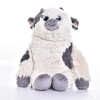 Cute Plush Stuffed Cow Cartoon Toys Baby Birthday Christmas Gift