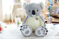 Lovely Giant Realistic Stuffed Koala Bear Toy Plush Animal Pillow