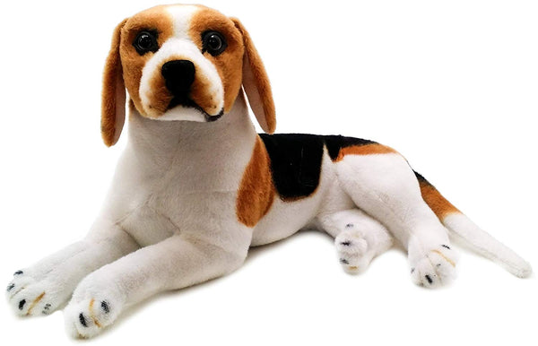 17 Inch Large Beagle Dog Stuffed Animal Plush Toy
